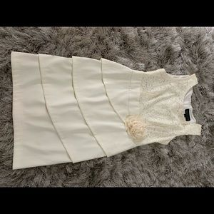 Connected apparel - White dress